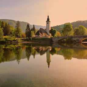 color spring morning by Anže Papler - Landscapes Waterscapes