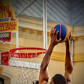 Streetball Challenge 3 by Ovidiu Sova - Sports & Fitness Basketball ( basketball, slam dunk, streetball, play, sport, game )