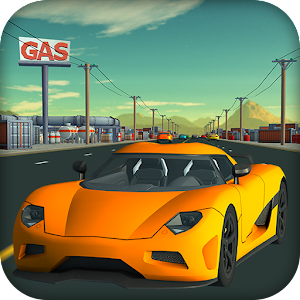 Traffic Racer Car 3D: Real Racing Highway Icon