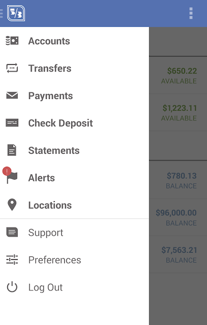 Fifth Third Mobile Banking screenshots