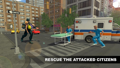 Flying Panther Superhero City Rescue For PC