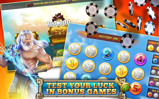 Slot Machines - Zeus Casino - screenshot