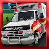 Ambulance parking 3D Part 3
