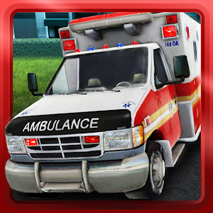 Cover art Ambulance parking 3D Part 3