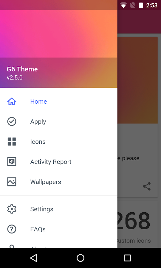 Theme - G6 Screenshot 6