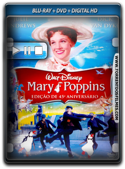 Baixar Filme Mary Poppins Dublado Torrent 720p Download Blu-ray