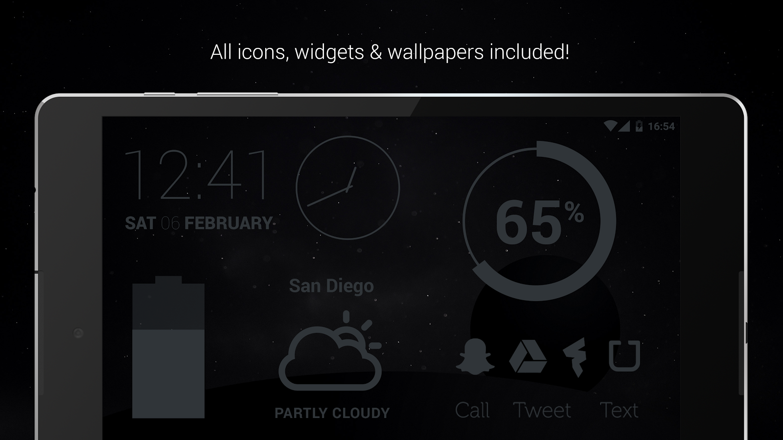 Murdered Out Pro - Dark Icons Screenshot 15
