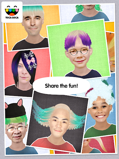 Toca Hair Salon Me screenshot 6