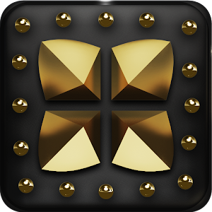 Gold Drago Next Launcher theme