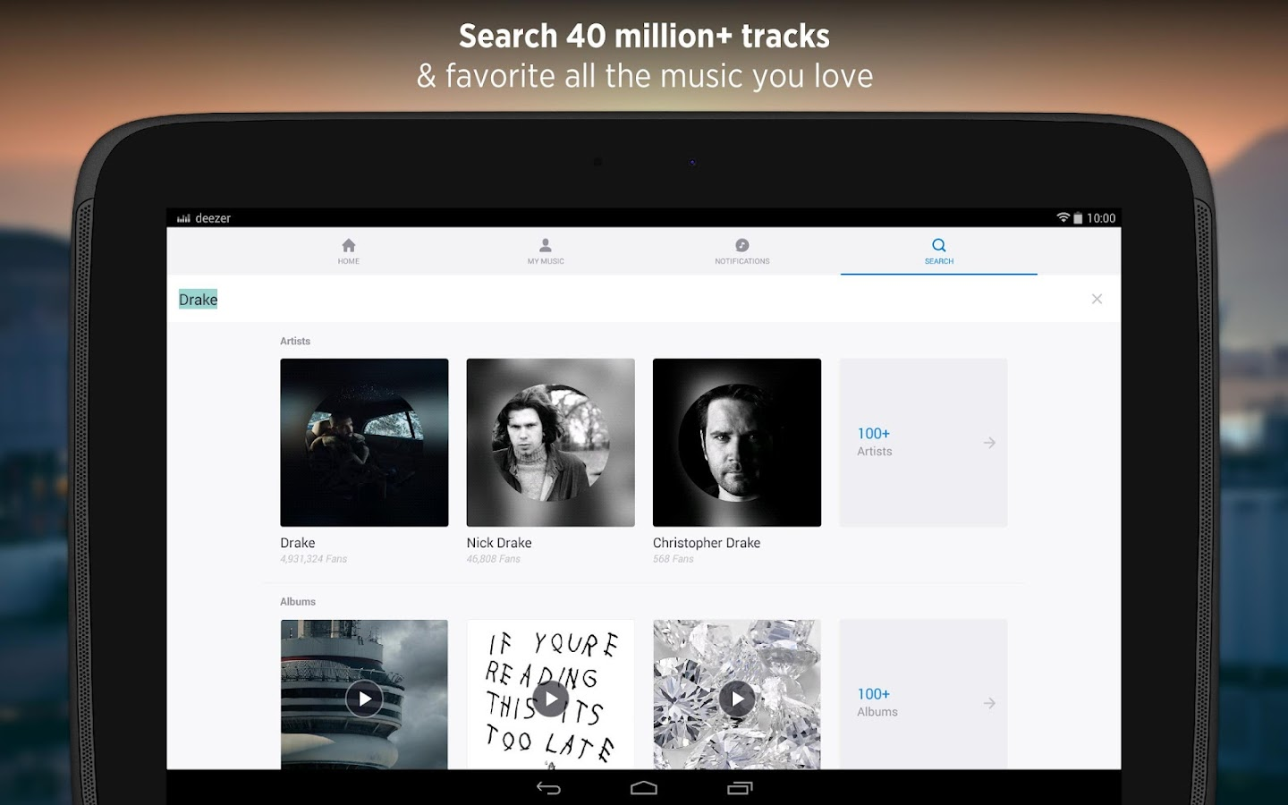 Deezer - Songs & Music Player Screenshot 9