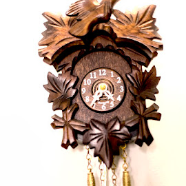 Cuckoo Clock by Pravine Chester - Artistic Objects Antiques ( cuckoo clocks, artistic objects, clocks, photography, antiques )