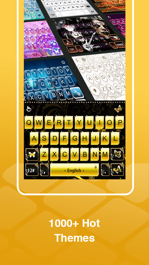 ABC Keyboard - TouchPal Emoji, Theme, Sticker, Gif Screenshot 3