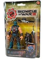 """Фигурка """"Bionicle of war"""" Клейтон блистер"""