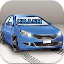 car crash racing 2D icon