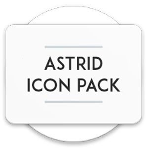 Astrid Icon Pack app for android