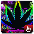 Neon Color Weed Keyboard Theme