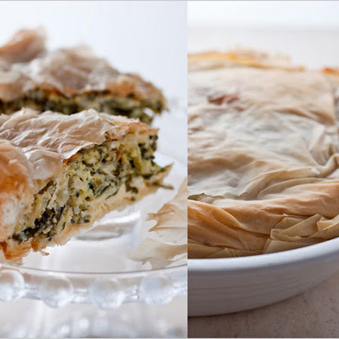 Greek Zucchini and Herb Pie