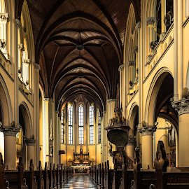 Catholic Cathedral in Jakarta by Pierre Tessier - Buildings & Architecture Places of Worship ( jakarta,  )