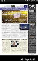 Screenshot of PLSN Magazine