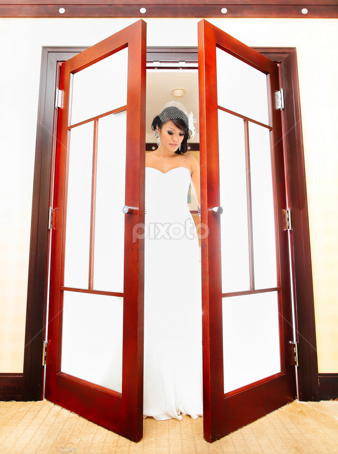 Shines by Henry Kurniawan - Wedding Bride ( flash, wedding, brides, philadelphia, bride, strobe )