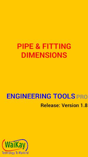 Flange Pipe Fittings Pro - screenshot