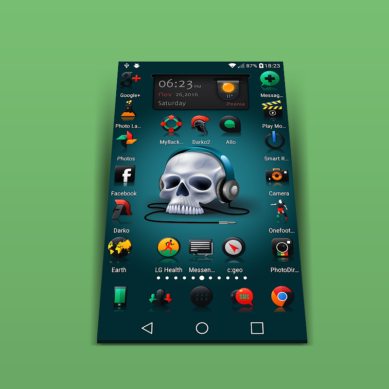 Darko 2 - Icon Pack Screenshot 8
