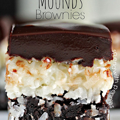 Mounds Brownies