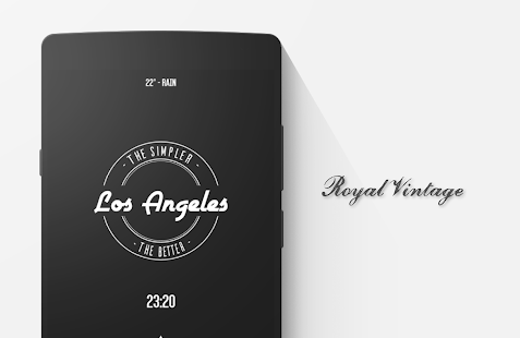 Royal Vintage Zooper Theme- screenshot thumbnail