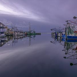 by David Salters - Transportation Boats ( biloxi, harbor, shrimp, boats )