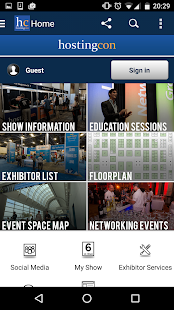 HostingCon Global 2016 - screenshot