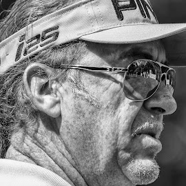 Miguel Angel Jimenez by Tom Frohnhofer - Sports & Fitness Golf ( celebrity, wentworth, golf )