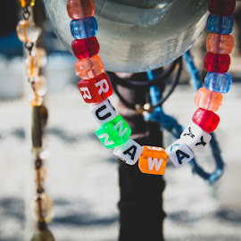 Runaway by Emily Frankel - Artistic Objects Jewelry ( vagabond, bracelet, explore, adventure, lost, plastic, color, wanderer, runaway, beads, found,  )