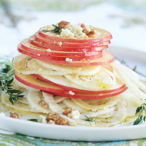 Fennel & Apple Salad with Apple Vinaigrette