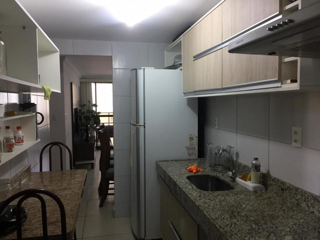 Apartamento com 2 dormitórios para alugar, 68 m² por R$ 3.000/mês - Ponta de Campina - Cabedelo/PB