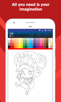 Coloring Book Anime And Manga APK screenshot thumbnail 4