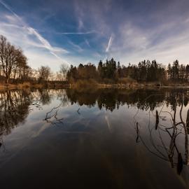 Bobovek lake by Kevin Lozar - Nature Up Close Other Natural Objects ( kranj, slovenia, lake, nikon, bobovek )