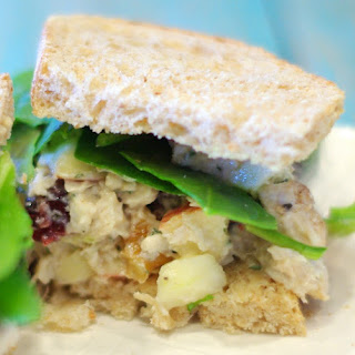 Roasted Turkey Salad Sandwiches