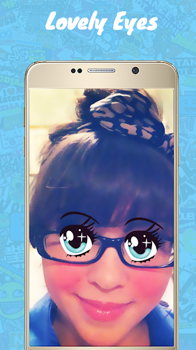 Snappy photo filters&Stickers Android App Screenshot