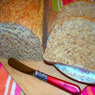 Oat Bran and Flax Bread