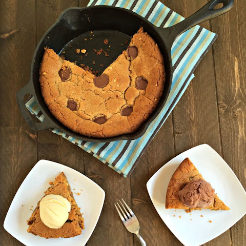 Reese's Peanut Butter Cookie Skillet