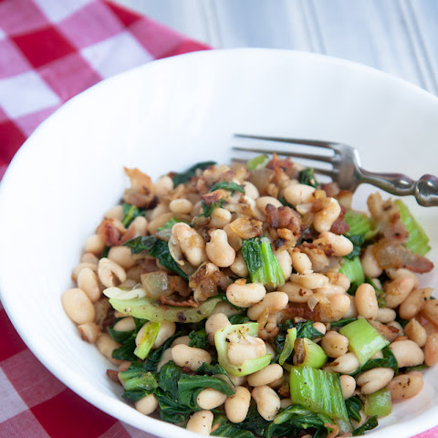 Bacon, Beans and Greens