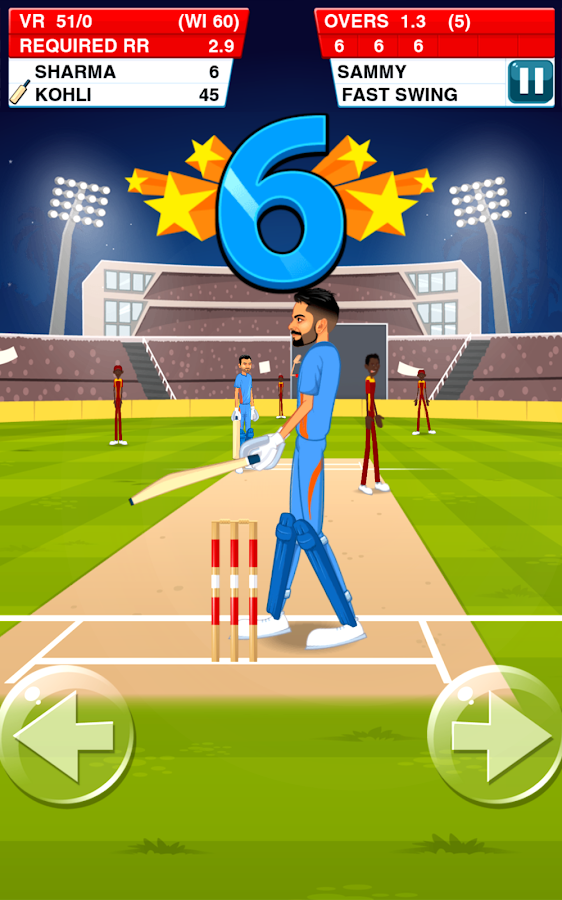 Stick Cricket Virat & Rohit Screenshot 3