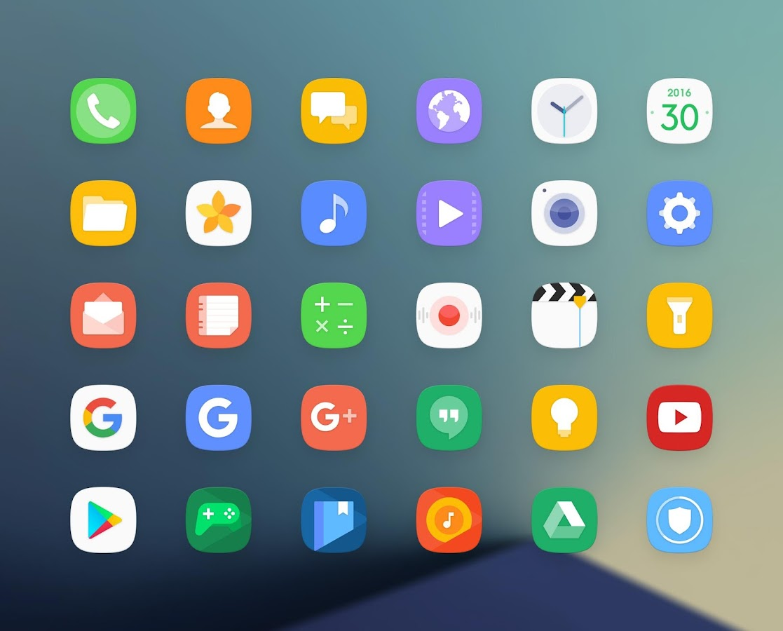 Grace UX - Icon Pack Screenshot 1