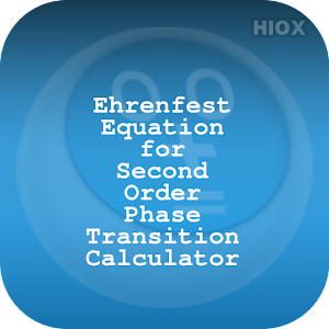 Download Ehrenfest Equation Calculator for Windows Phone