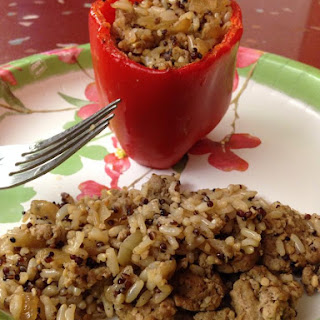 21-Day Fix Approved Stuffed Pepper
