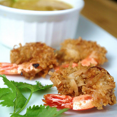 Coconut Lime Shrimp with Mango Dipping Sauce