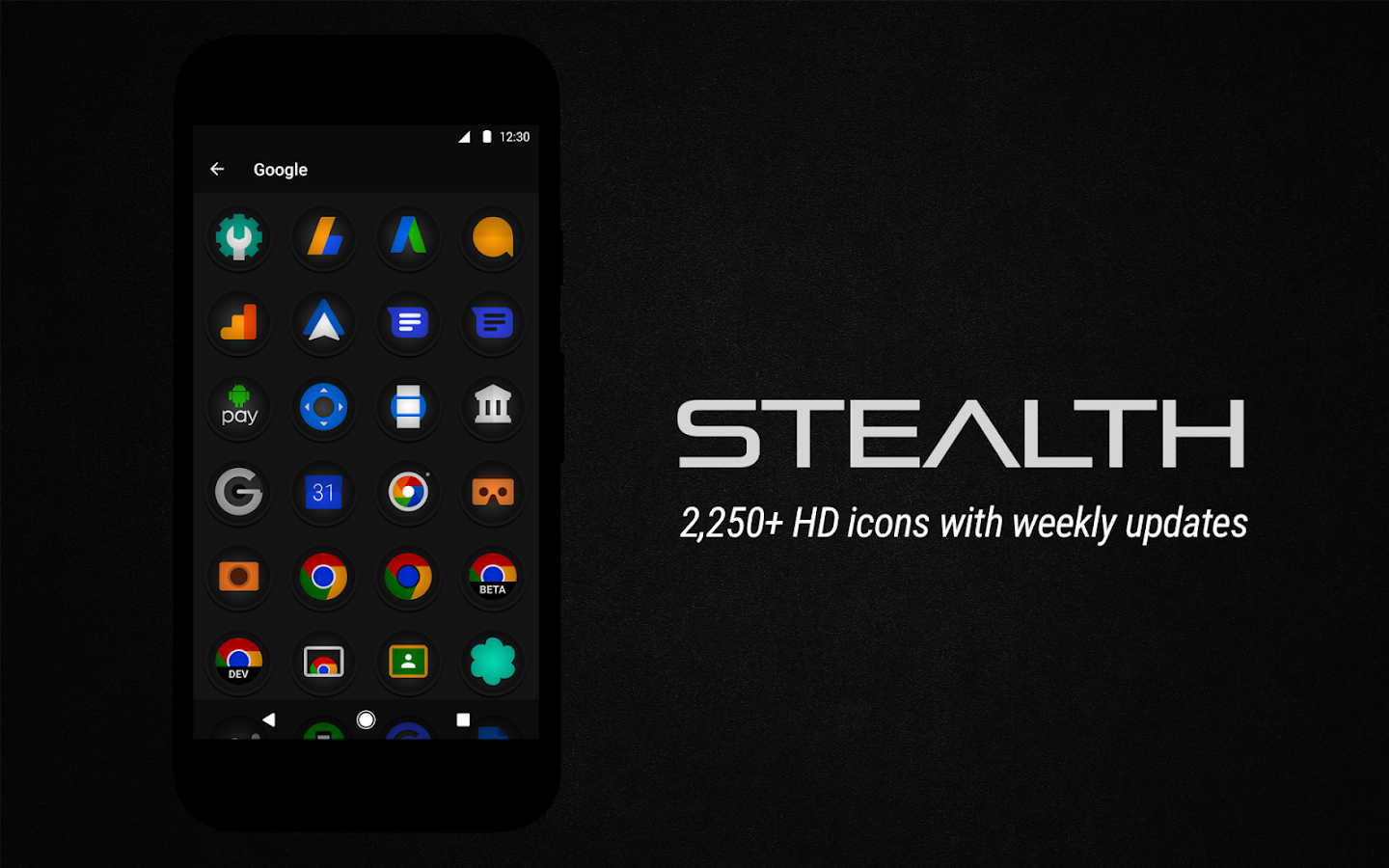 Stealth Icon Pack Screenshot 8