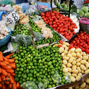 fruits and vegetables by Cristobal Garciaferro Rubio - City,  Street & Park  Markets & Shops ( pwcmarkets )