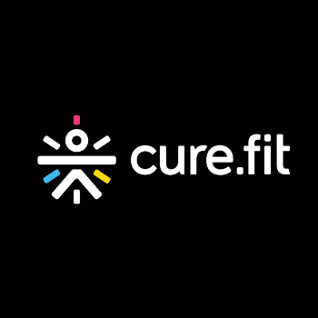 Cure.Fit, ,  logo