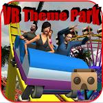 VR Theme Park Cardboard Icon